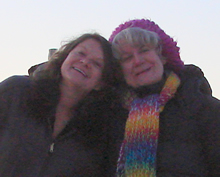 Deb and Kathy